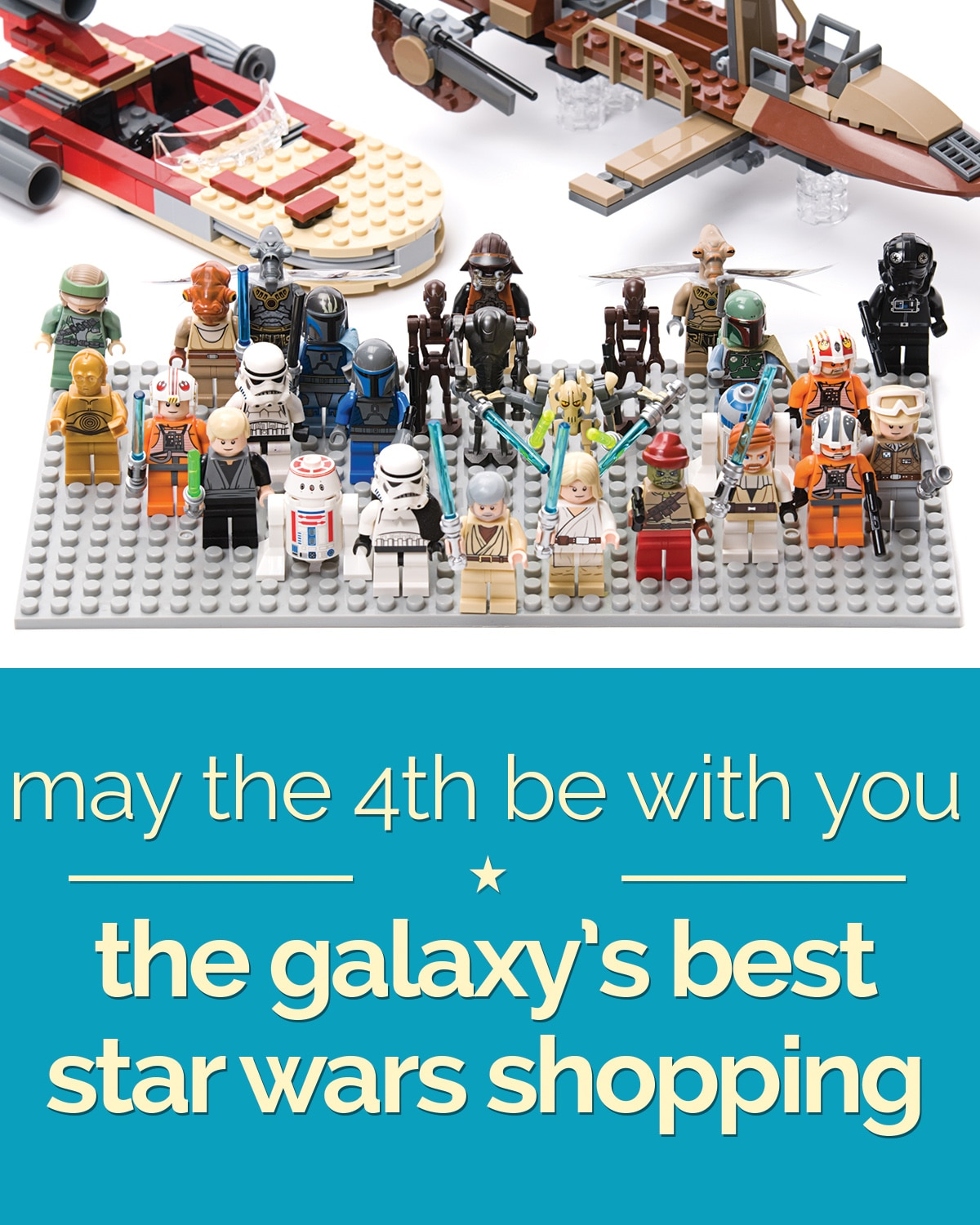 May The 4th Be With You: The Galaxy's Best Star Wars Shopping | thegoodstuff
