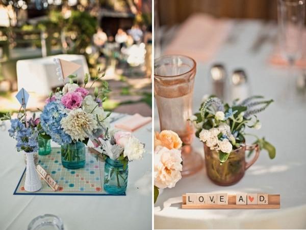 22 Eye Catching Inexpensive Diy Wedding Centerpieces Thegoodstuff
