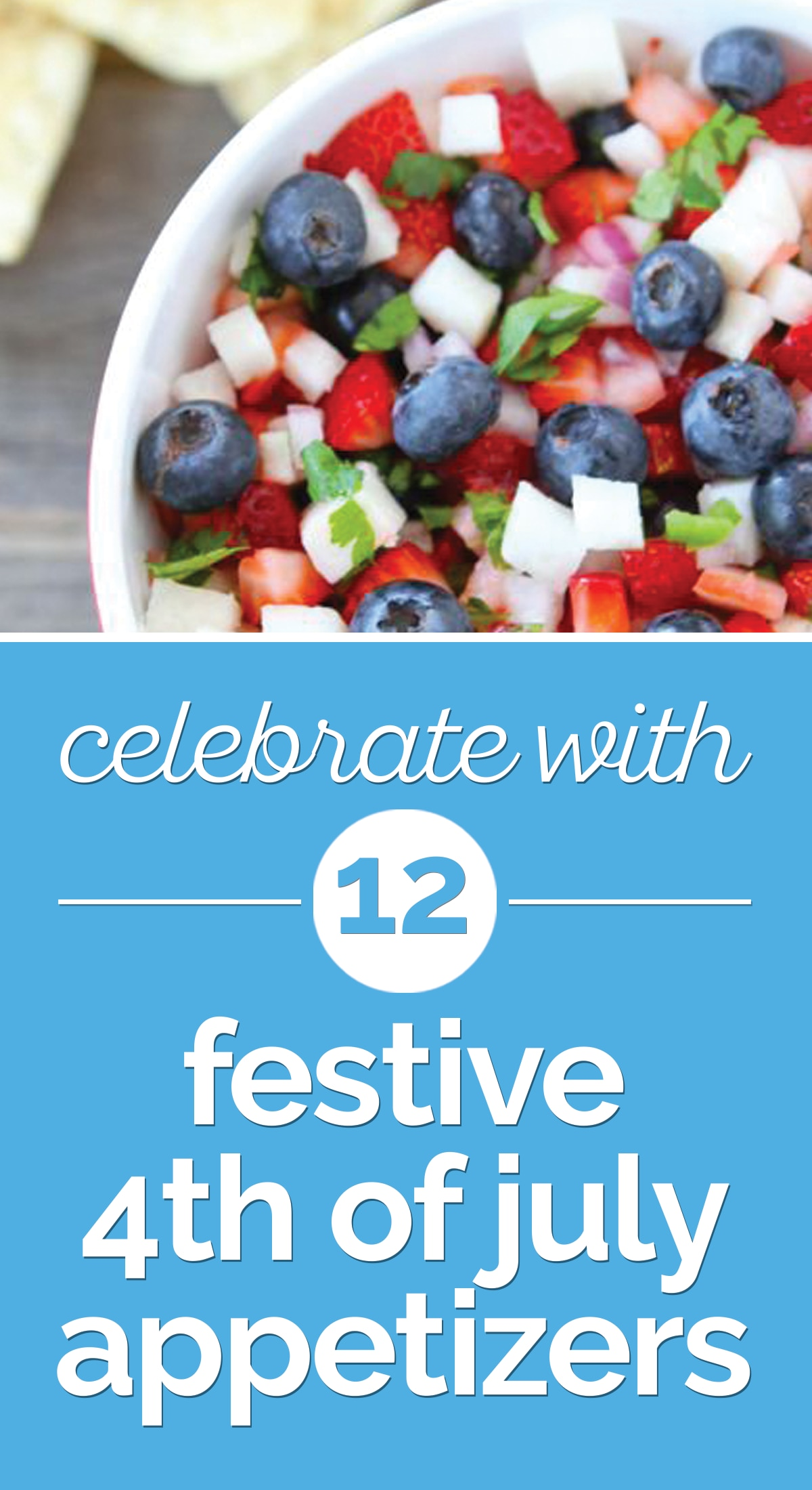 Celebrate with 12 Festive 4th of July Appetizers | thegoodstuff
