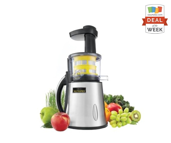 Deal of the Week: 70% Off Bella 13695 NUTRIPRO Cold Press Juicer | thegoodstuff