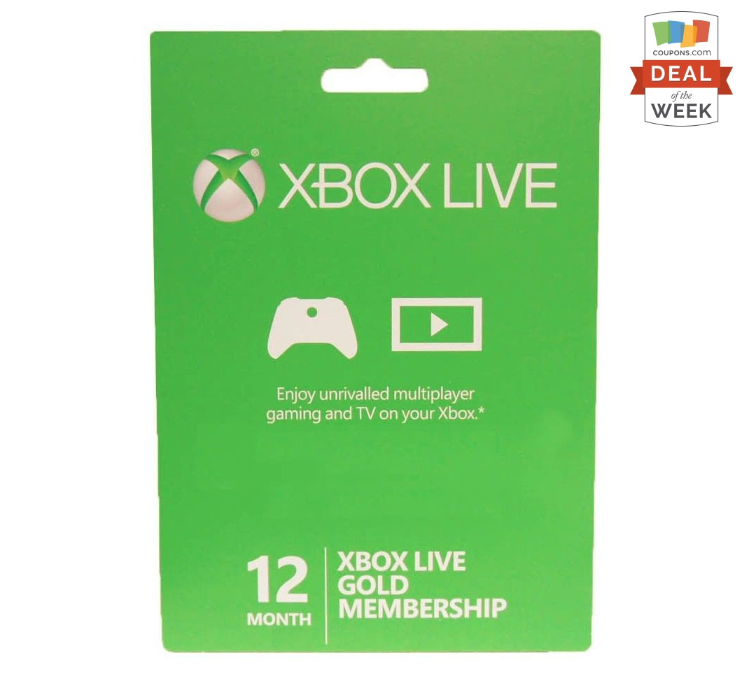 deal of the week 40 off xbox live gold membership thegoodstuff