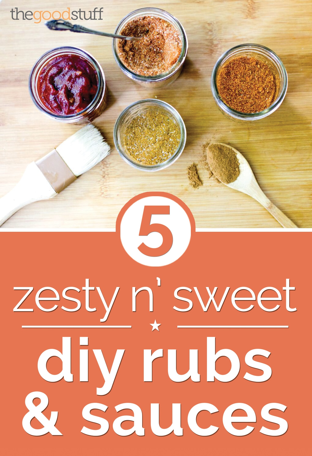 Clean Out Your Pantry: 5 Zesty n' Sweet DIY Rubs & Sauces | thegoodstuff