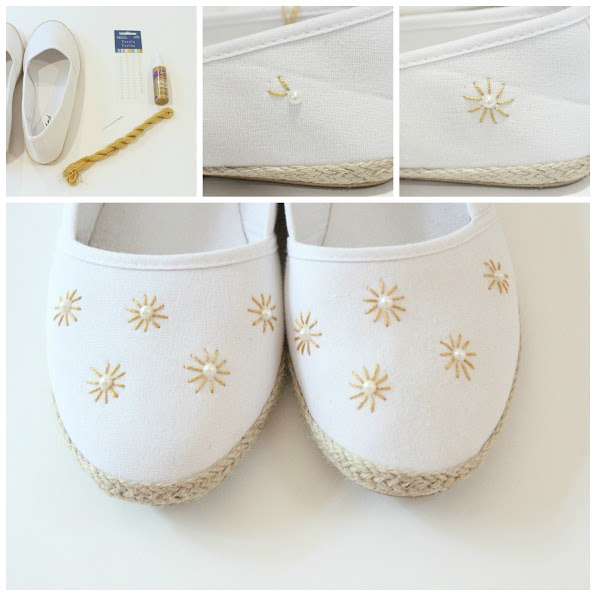 5ab85ba4e341 20 DIY Wedding Shoes for Every Bridal Style - thegoodstuff