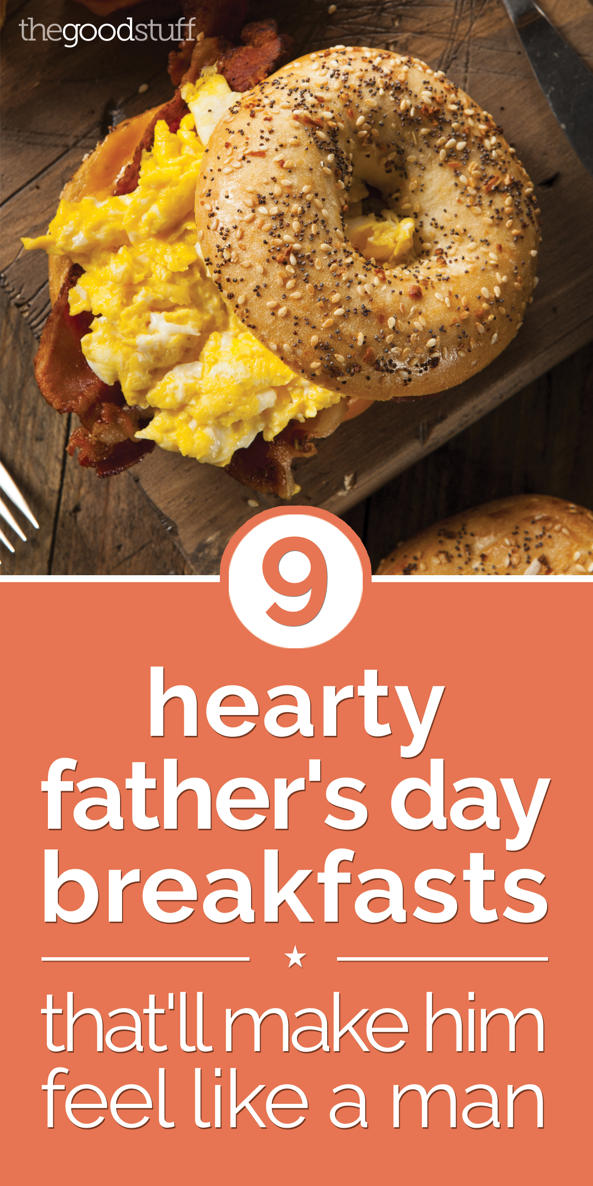 9 Hearty Father's Day Breakfasts That'll Make Him Feel Like a Man | thegoodstuff