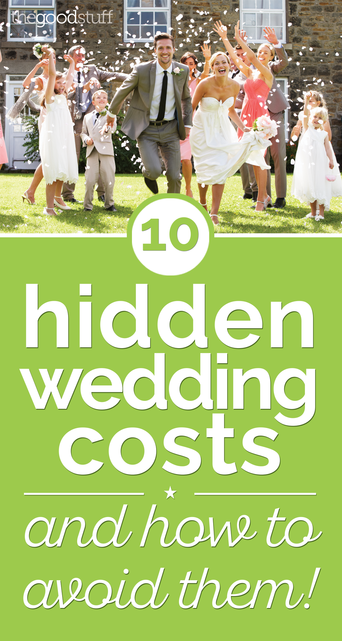 10 Hidden Wedding Costs — And How to Avoid Them! | thegoodstuff