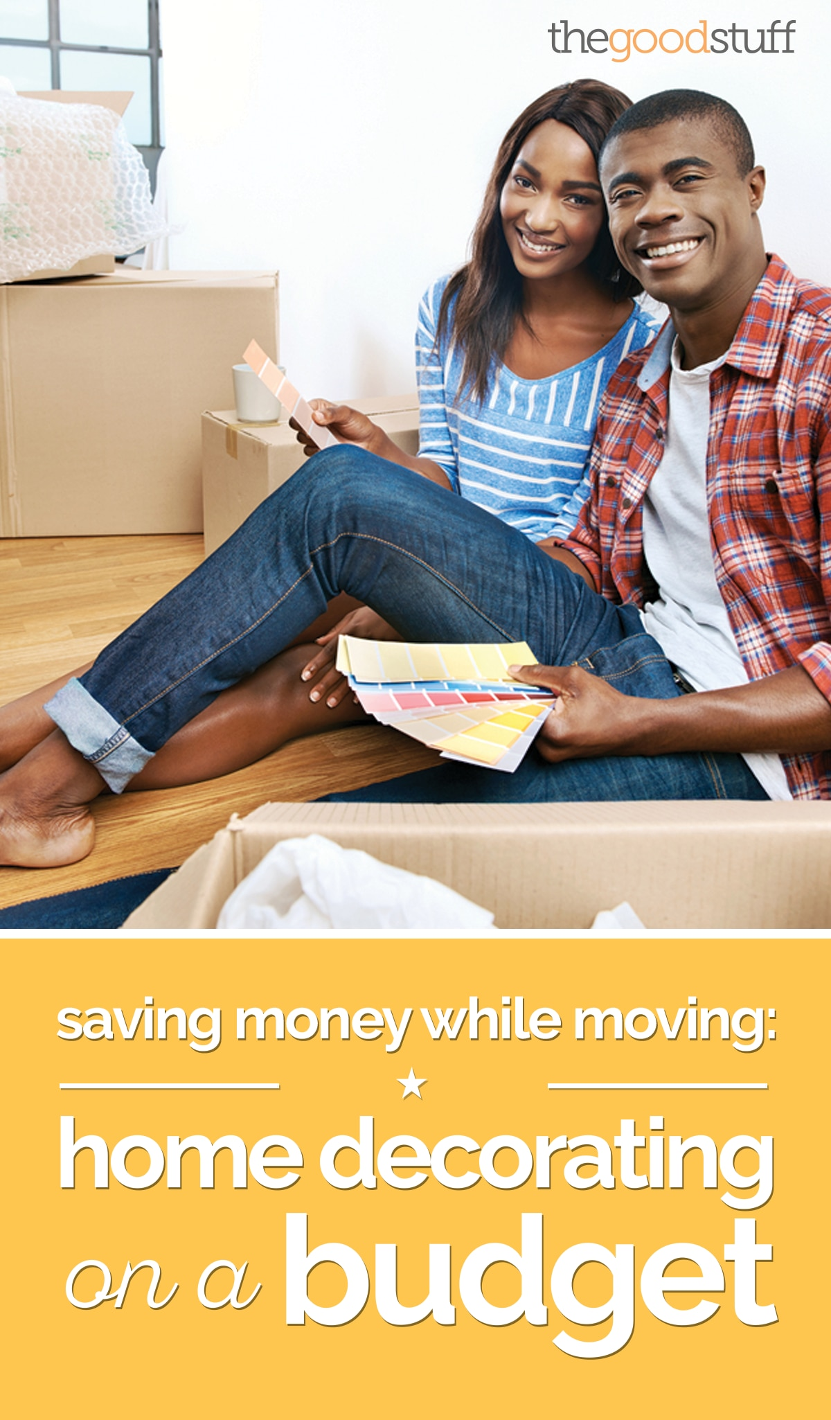 Saving While Moving: Home Decorating on a Budget | thegoodstuff