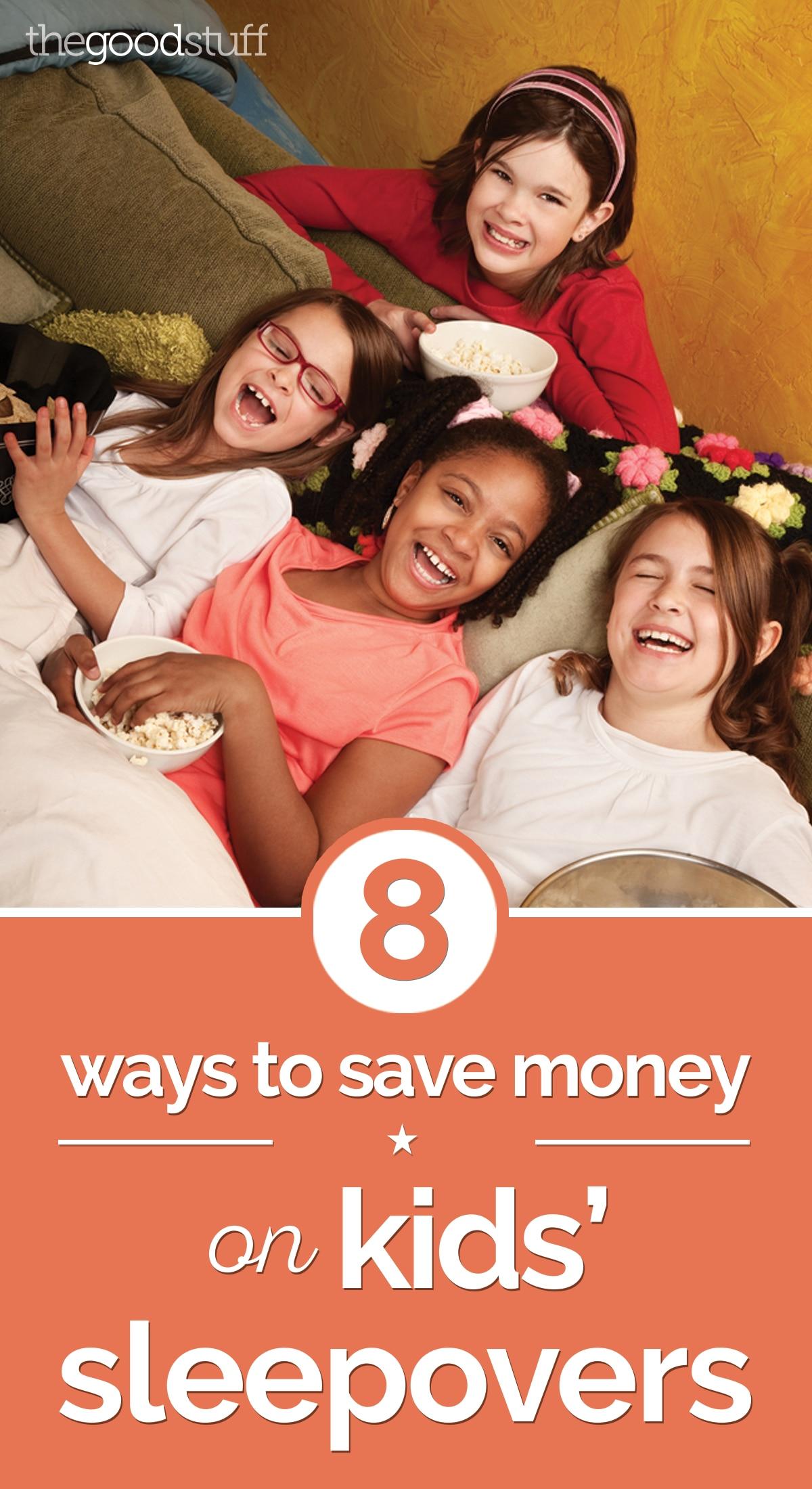 8 Ways to Save Money on Kids' Sleepovers | thegoodstuff