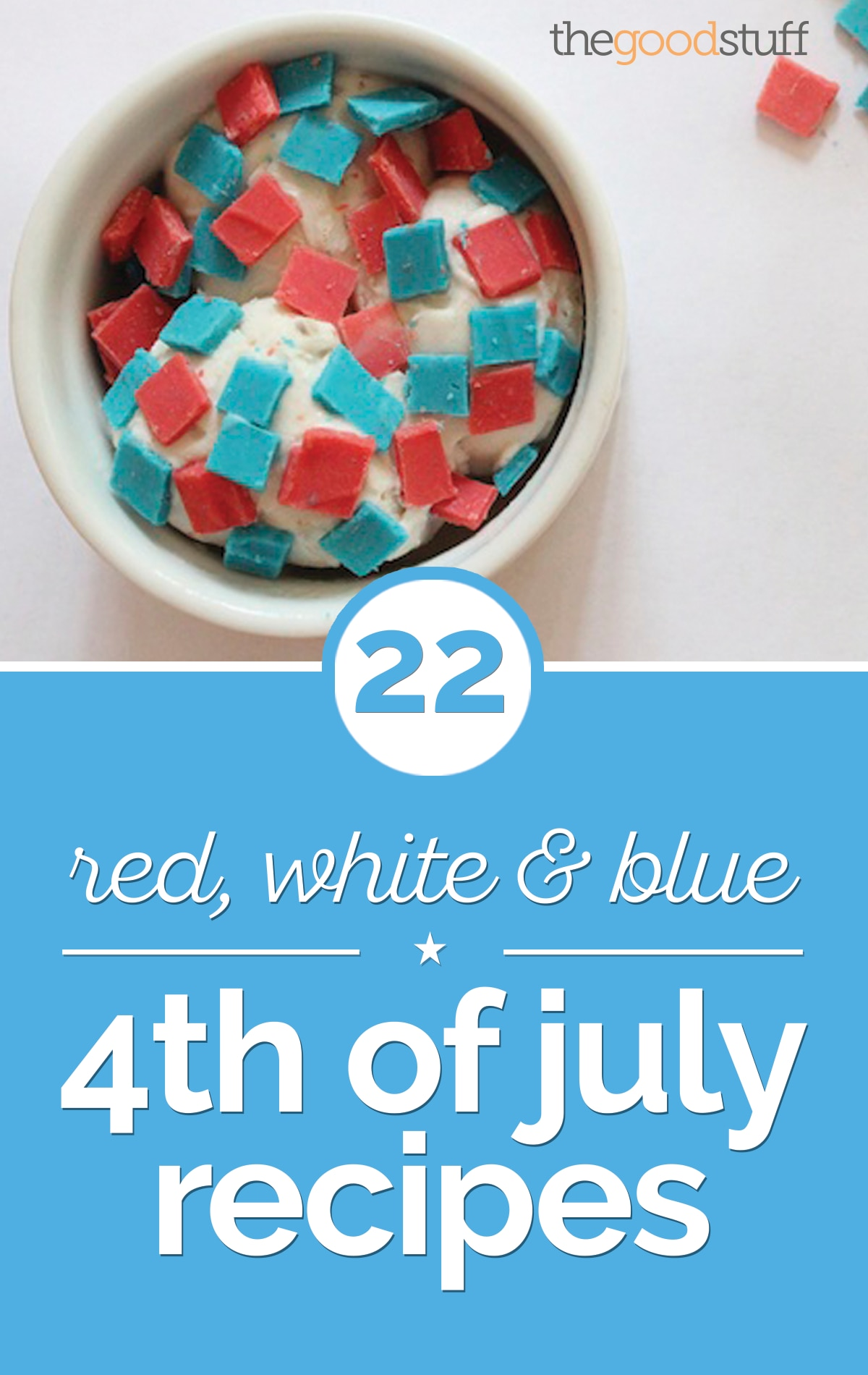 22 Red, White & Blue 4th of July Recipes | thegoodstuff