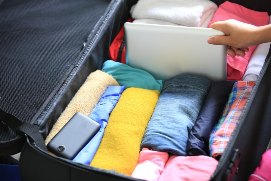 5 travel packing tips for carry ons thegoodstuff. Black Bedroom Furniture Sets. Home Design Ideas