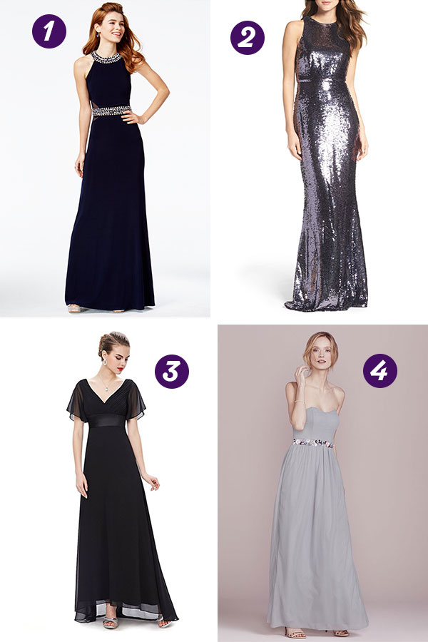 Black Bridesmaid Dresses | thegoodstuff