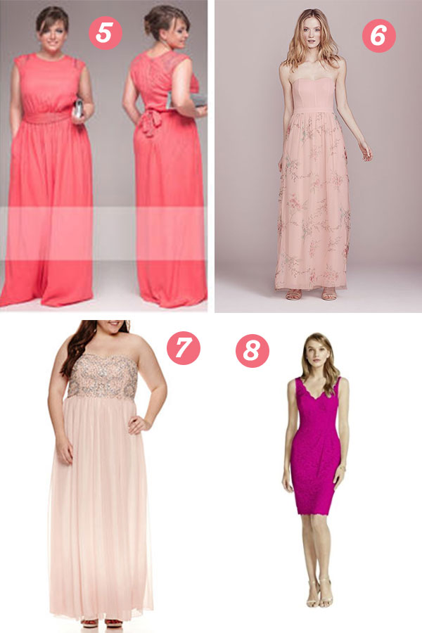 Coral Bridesmaid Dresses | thegoodstuff