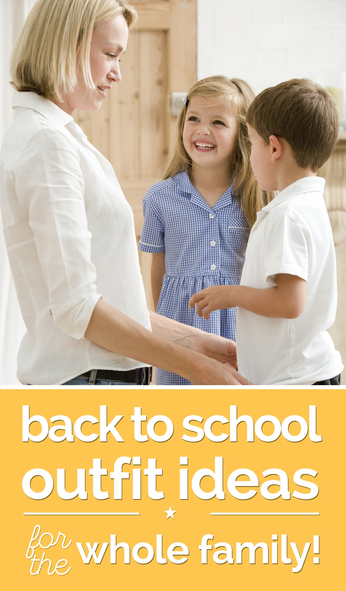 Back To School Outfit Ideas For The Whole Family Thegoodstuff