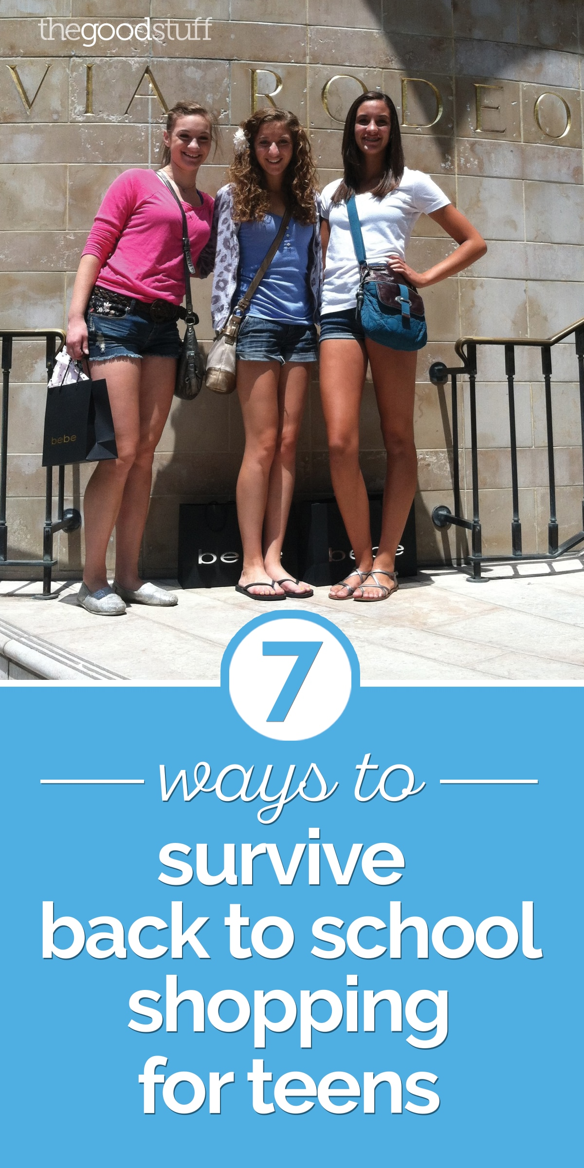 7 Ways to Survive Back to School Shopping for Teens | thegoodstuff