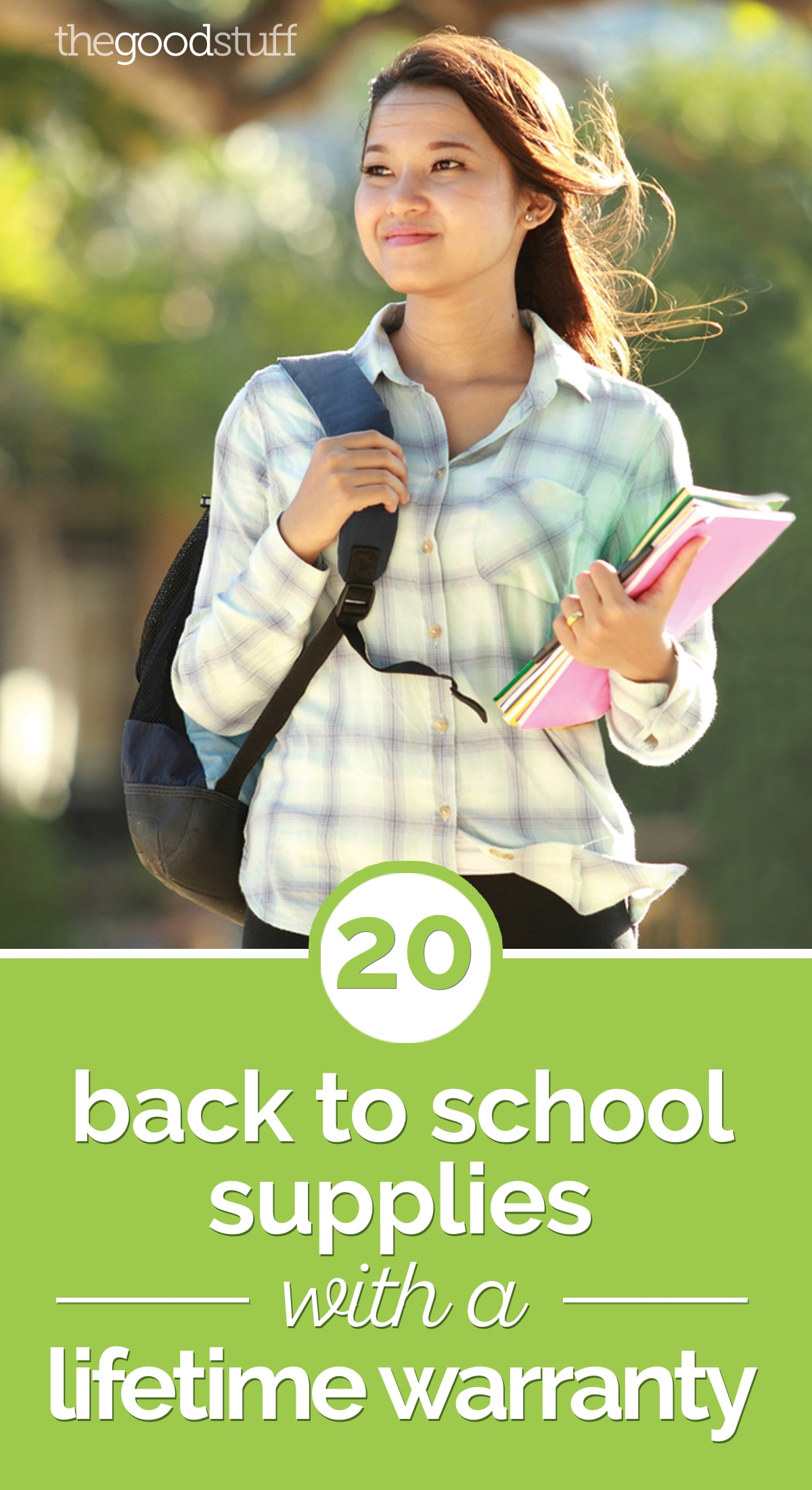 20 Back to School Supplies with a Lifetime Warranty | thegoodstuff