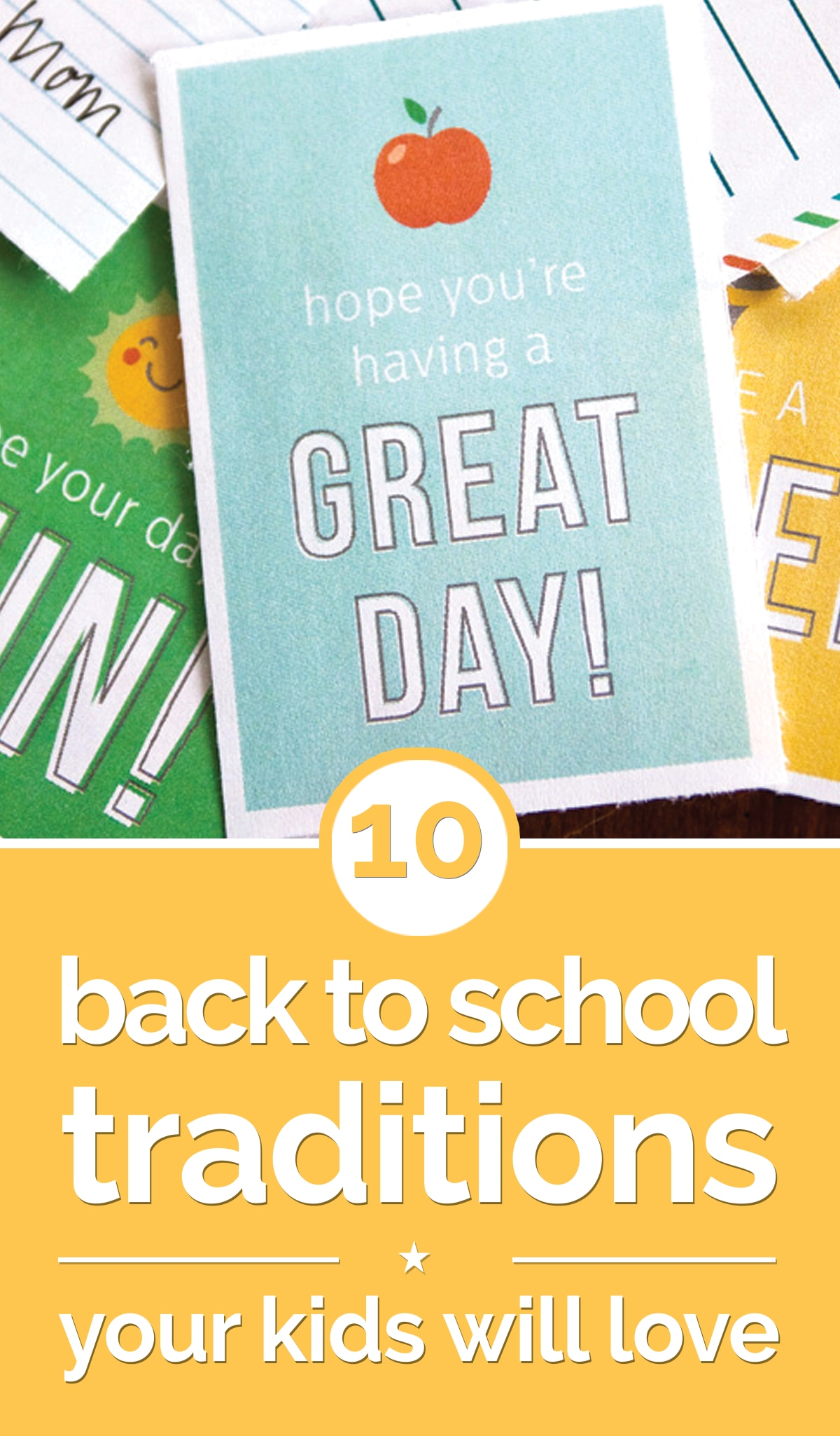 10 Back To School Traditions Your Kids Will Love | thegoodstuff