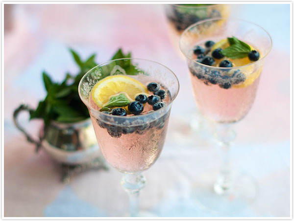 4 Blueberry Cocktail Recipes For National Blueberry Month