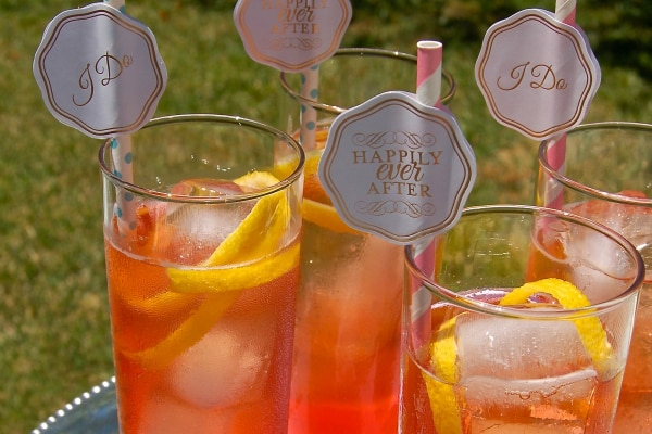 4 DIY Signature Wedding Cocktails — And How to Create Yours!