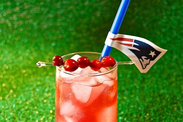 Super Bowl Party Cocktails & Mocktails That Show Team Spirit