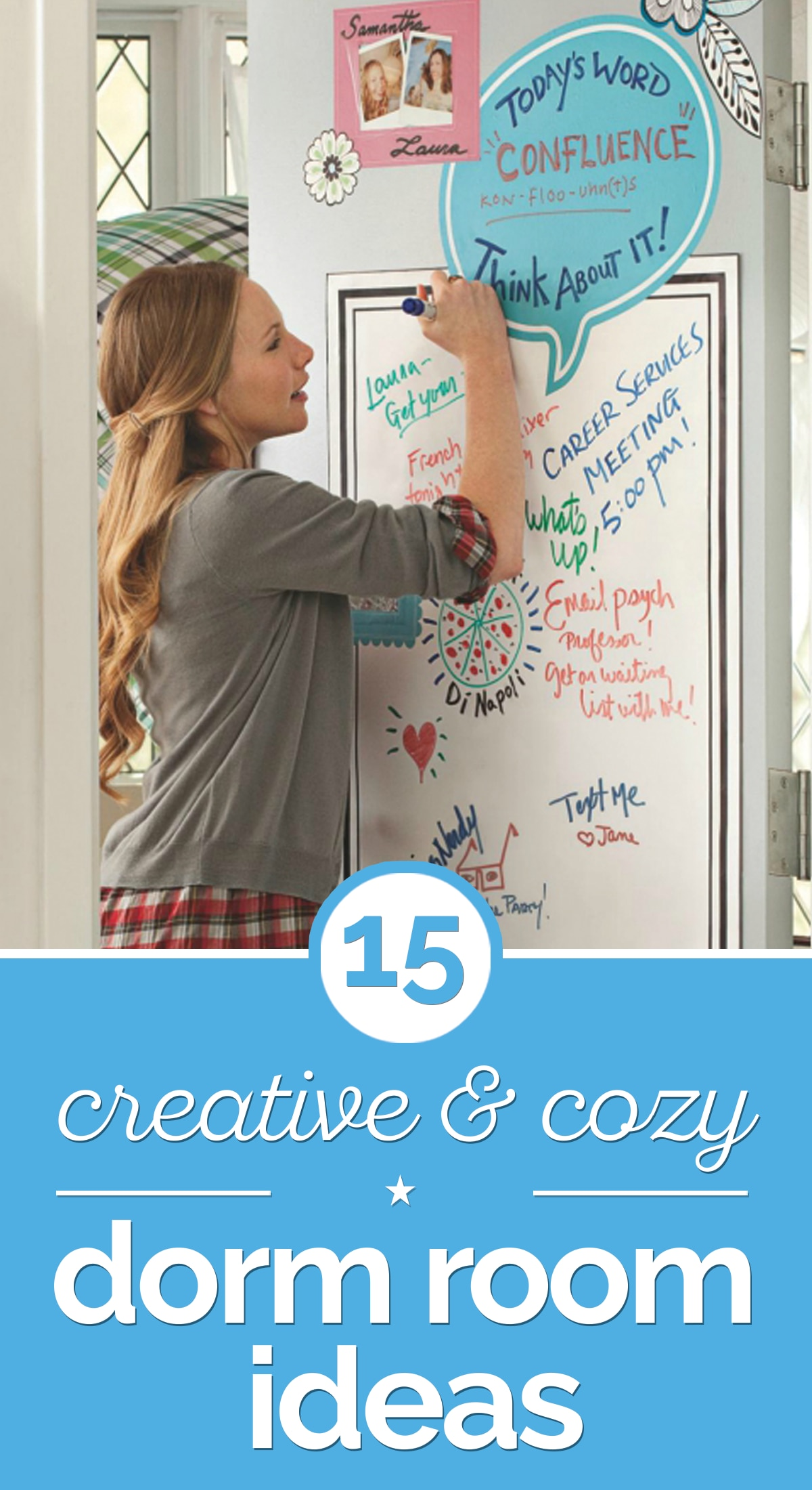 15 Creative & Cozy Dorm Room Ideas | thegoodstuff