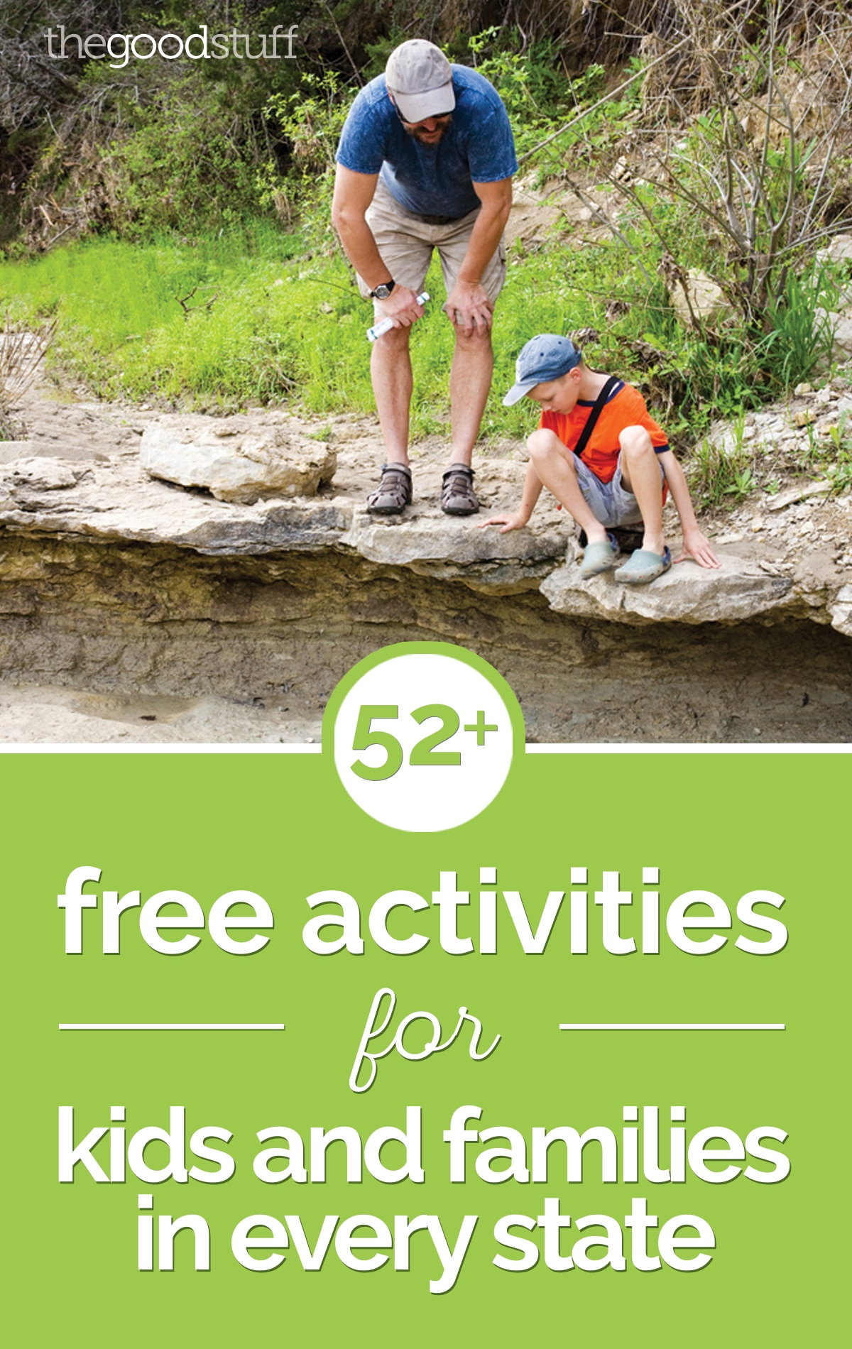 52+Free Activities for Kids and Families in Every State | thegoodstuff