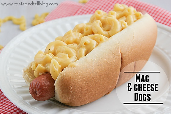 Mac and Cheese Hot Dog