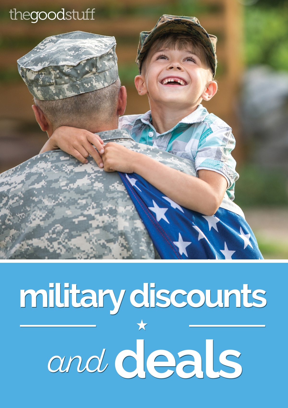 List of 350+ Military Discounts and Deals | thegoodstuff
