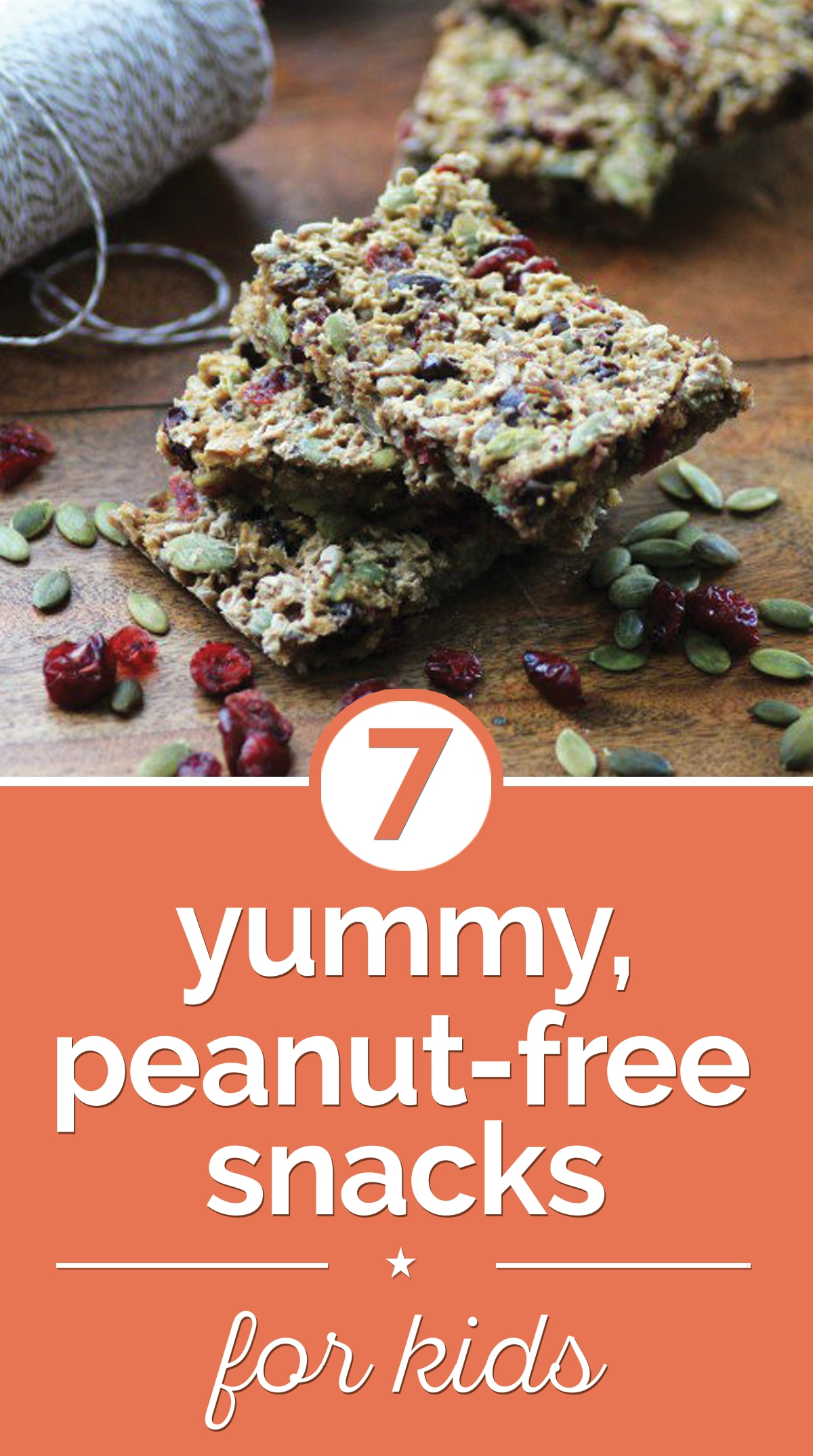 7 Yummy, Peanut-Free Snacks for Kids | thegoodstuff
