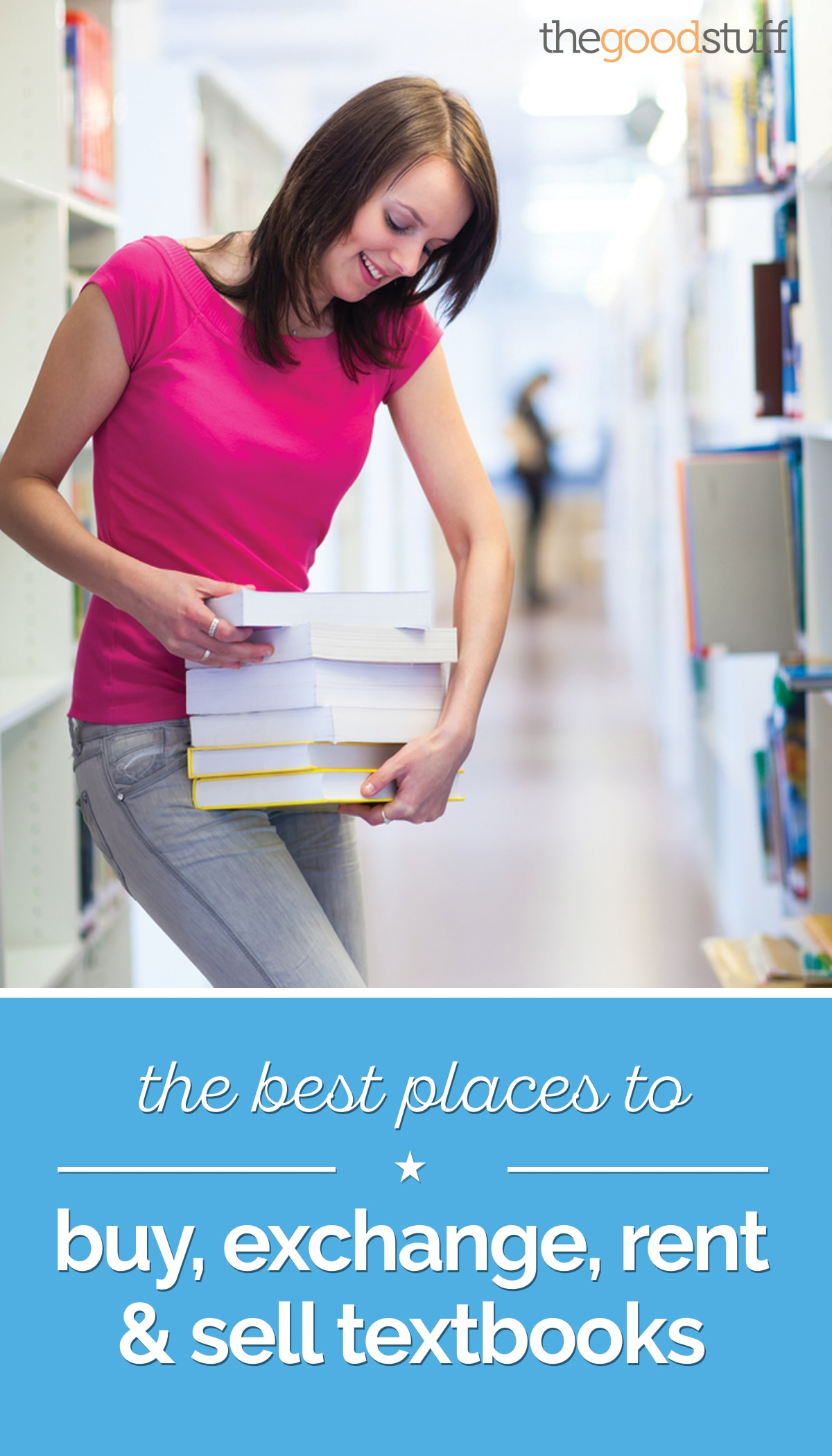 The Best Places to Buy, Exchange, Rent & Sell Textbooks | thegoodstuff
