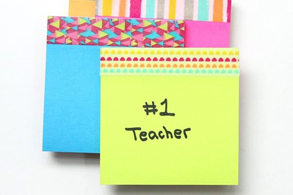 16 Adorable DIY Teacher Appreciation Gifts