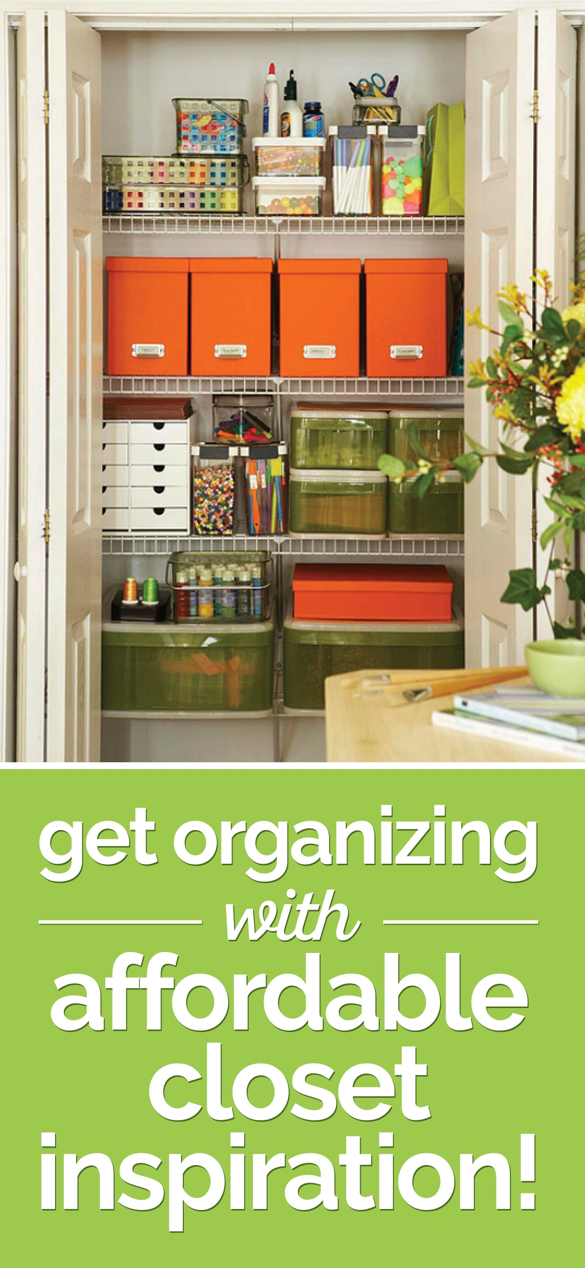 Get Organizing with (Affordable) Closet Inspiration! | thegoodstuff