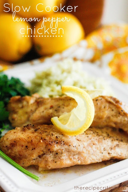 Chicken in the Crock Pot | thegoodstuff