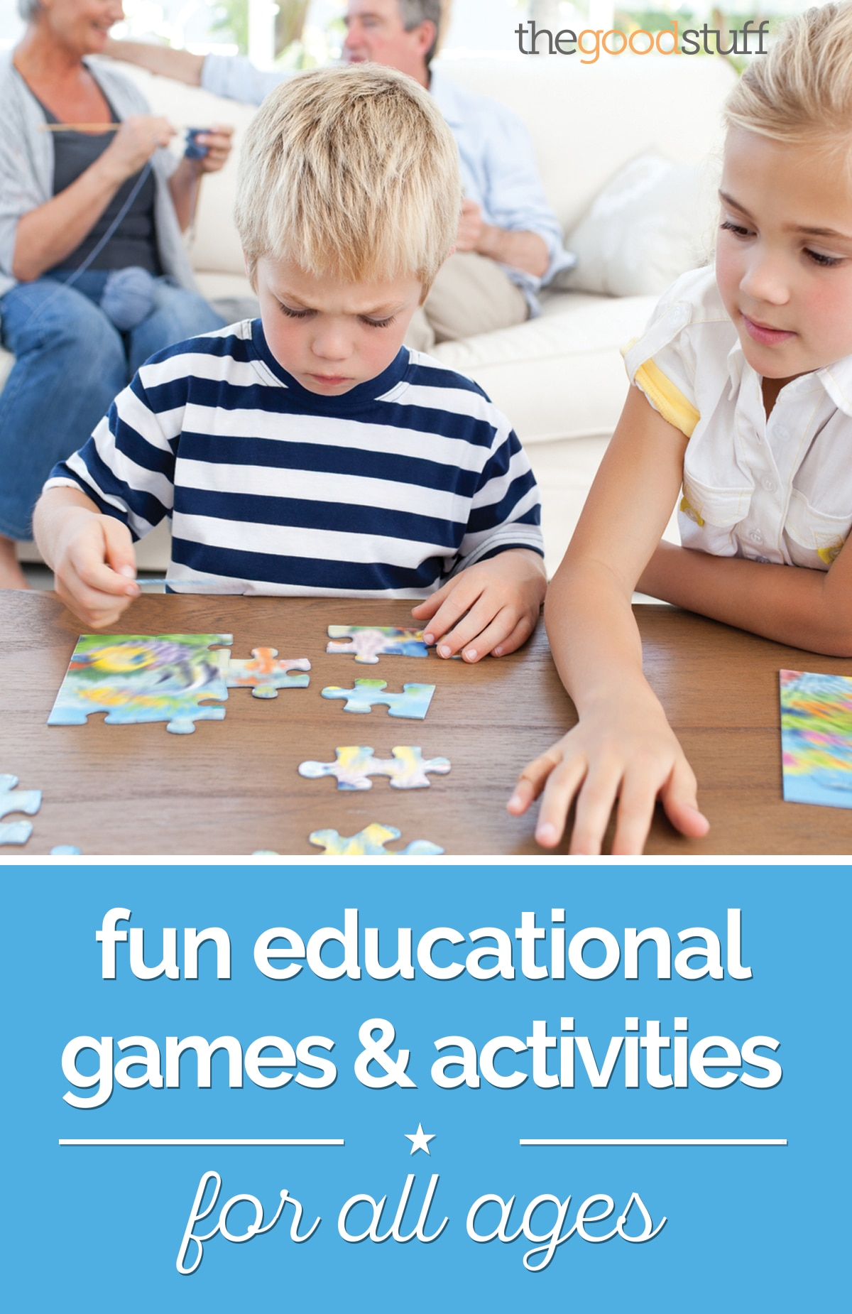 Fun Educational Games & Activities for All Ages | thegoodstuff