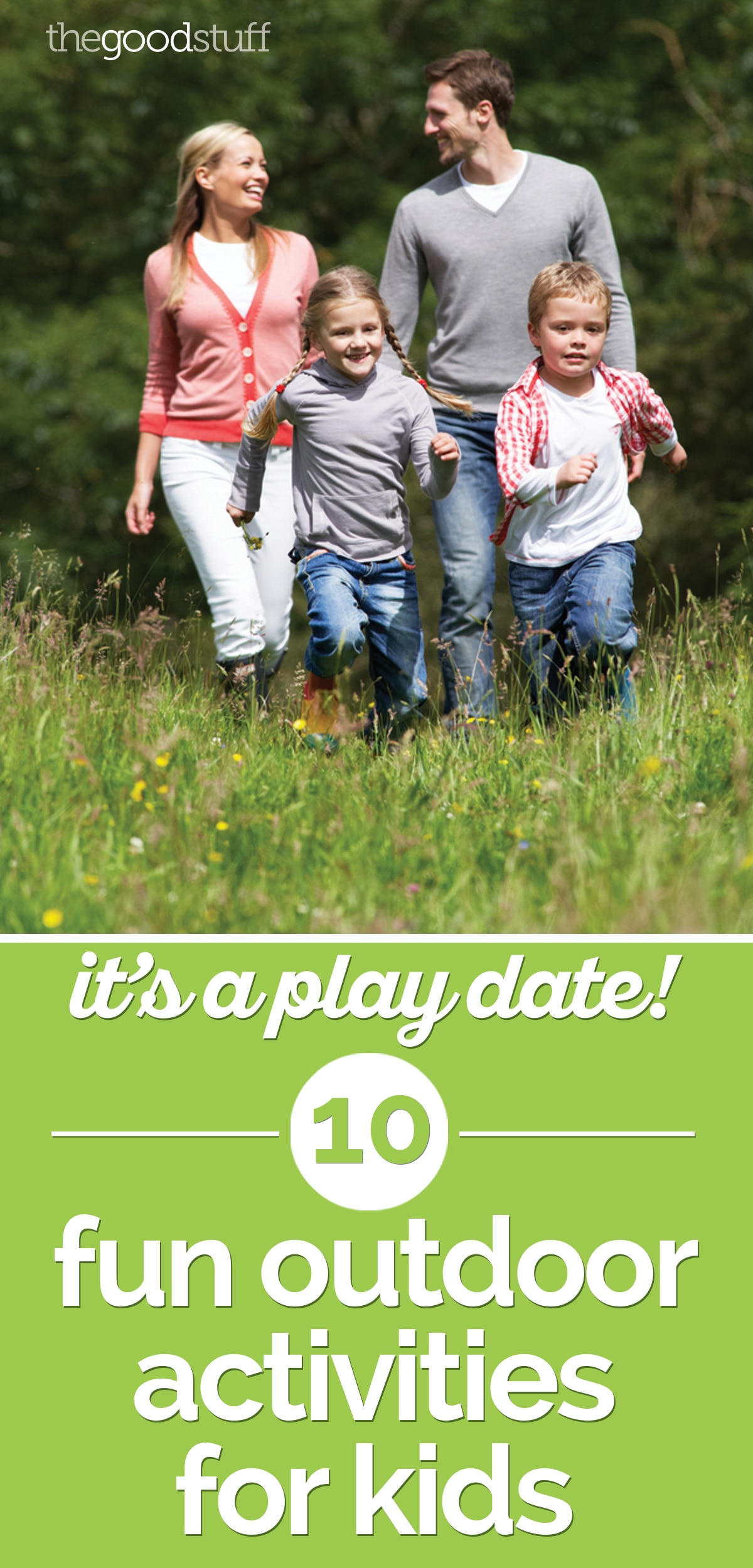 It's a Play Date! 10 Fun Outdoor Activities for Kids | thegoodstuff