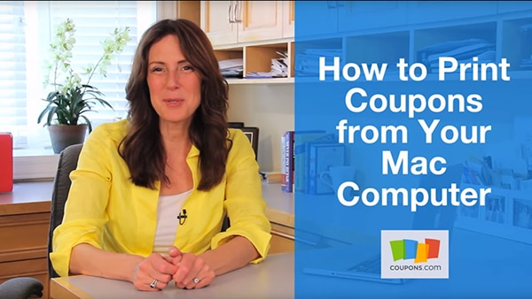 VIDEO: How to Print Coupons From Your Mac Computer   thegoodstuff