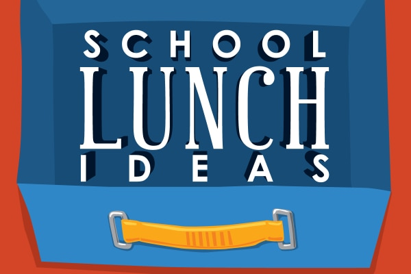 Put Away the PB&J! Packing School Lunch Ideas