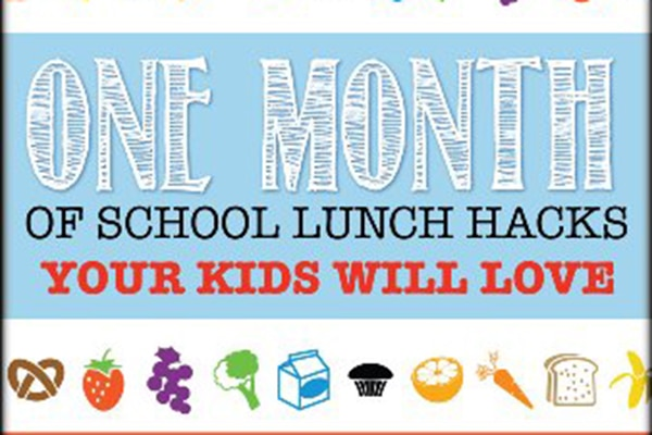 One Month of Easy School Lunch Ideas (Infographic)
