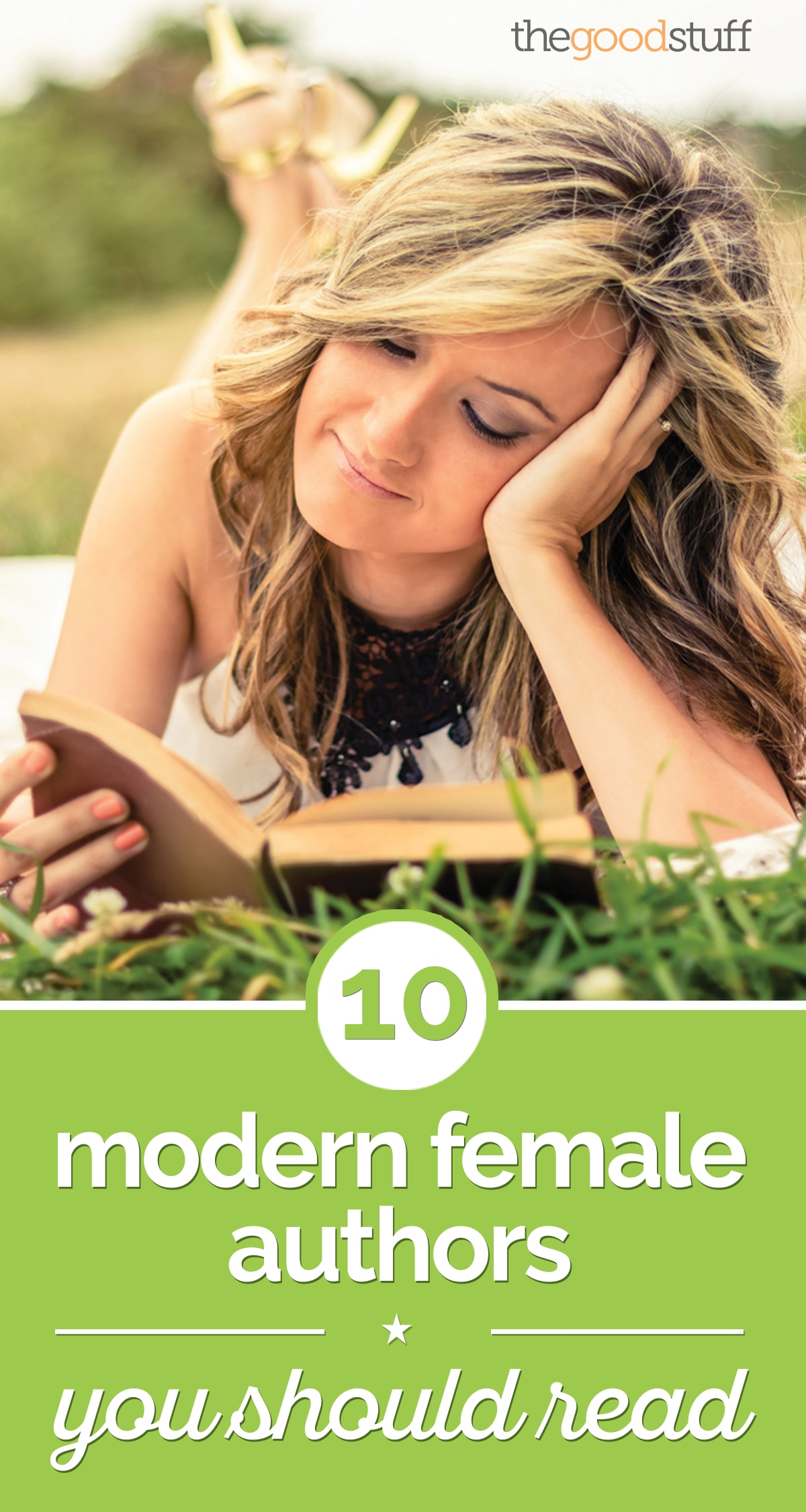 10 Modern Female Authors You Should Read | thegoodstuff