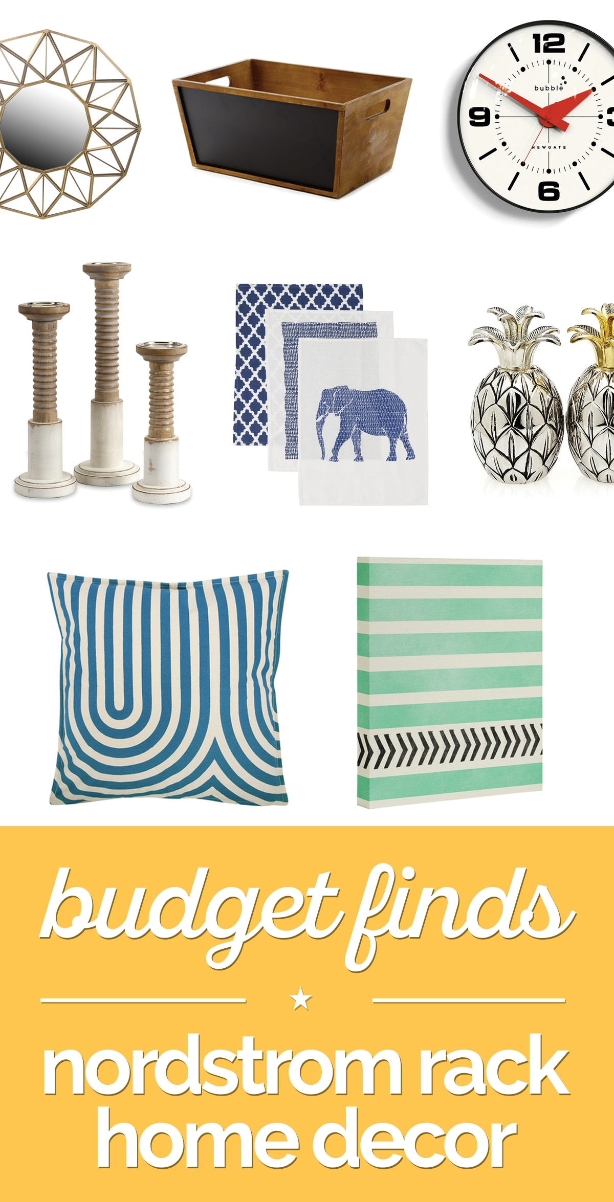 Budget Finds: Nordstrom Rack Home Decor | thegoodstuff