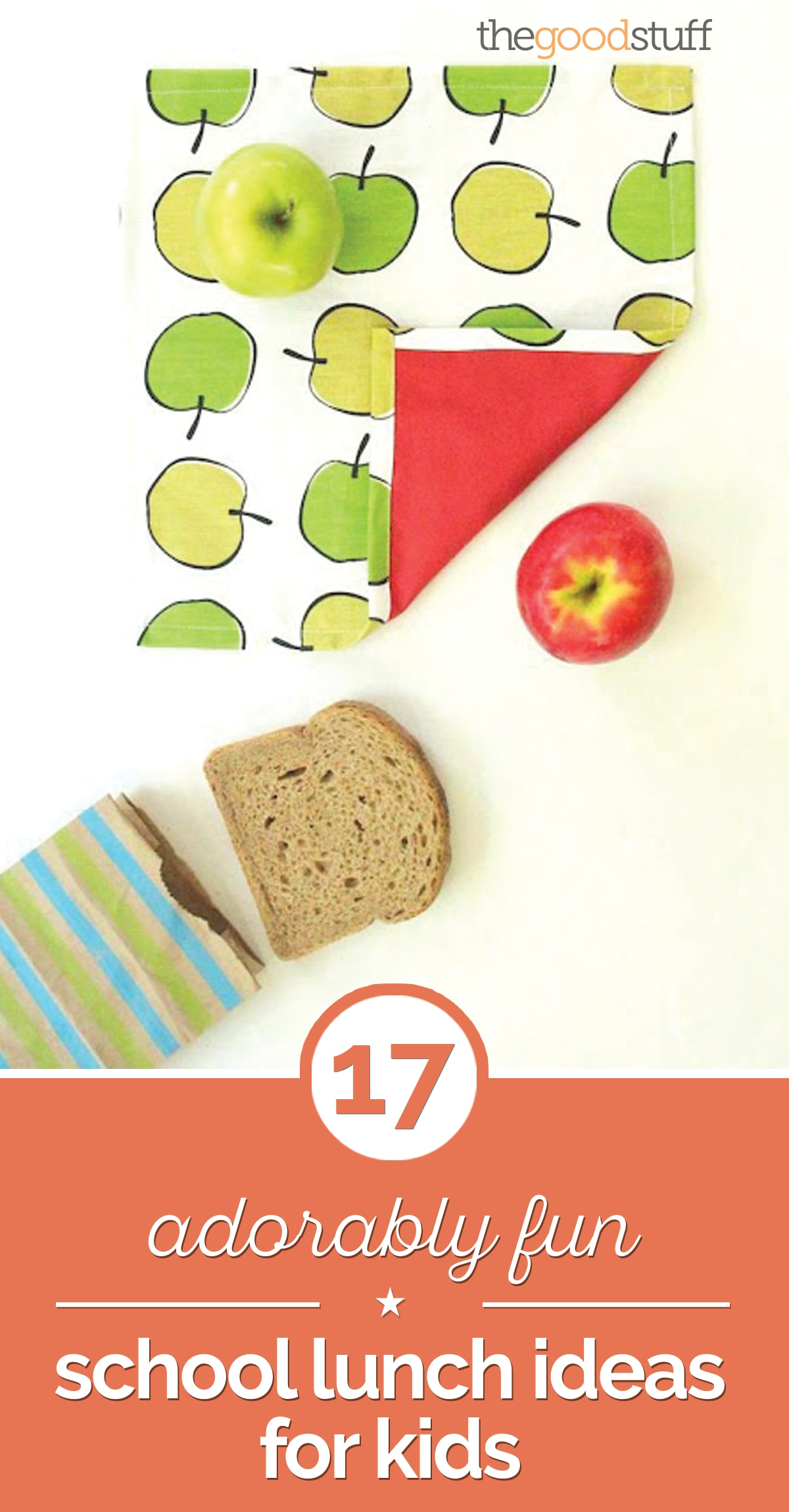 17 Adorably Fun School Lunch Ideas for Kids | thegoodstuff
