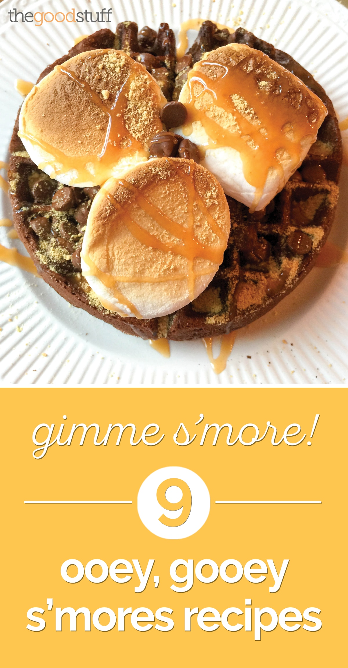 Gimme S'more! 9 Ooey, Gooey S'mores Recipes | thegoodstuff