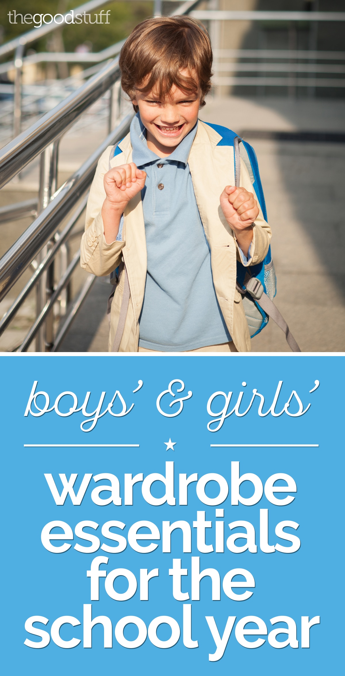 10 Basic Wardrobe Essentials for the School Year | thegoodstuff