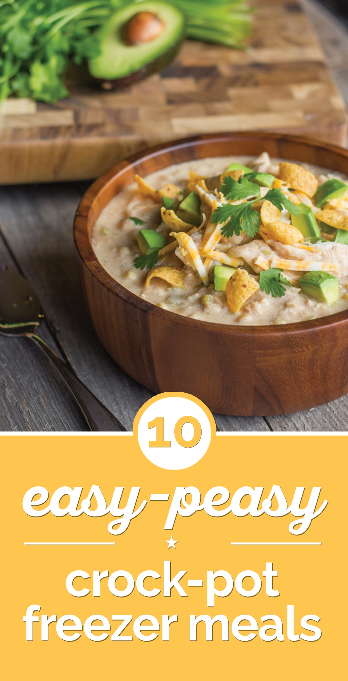 10 Easy-Peasy Crock-Pot Freezer Meals | the good stuff