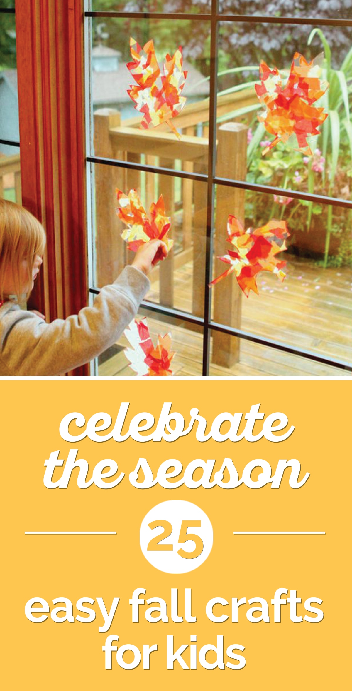 Celebrate the Season: 25 Easy Fall Crafts for Kids | the good stuff