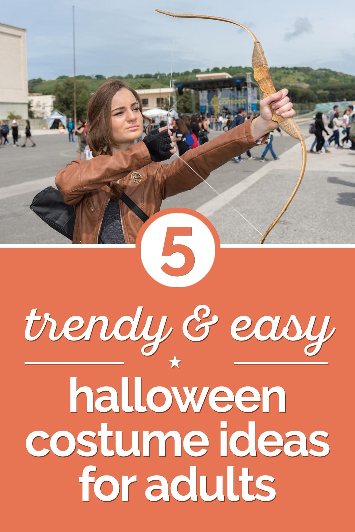 5 Trendy & Easy Halloween Costume Ideas for Adults - thegoodstuff