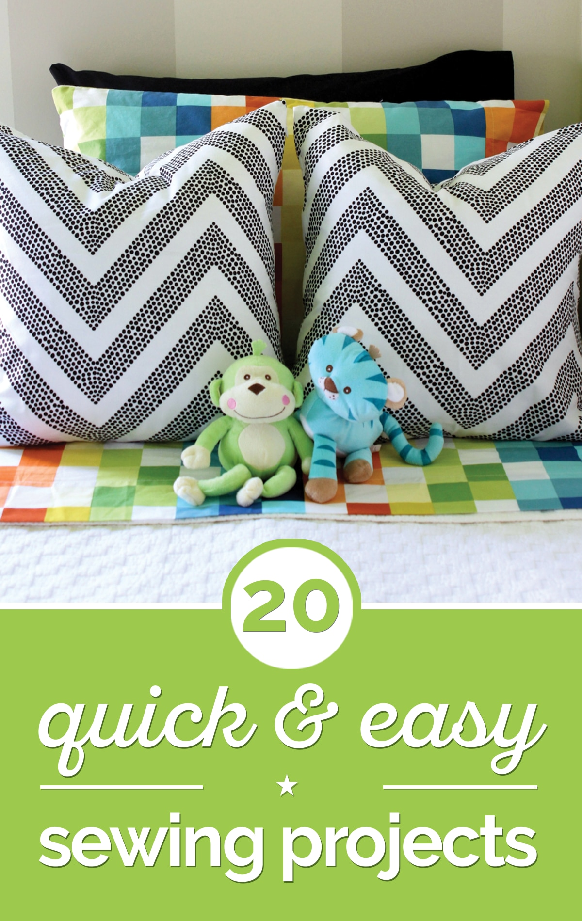 20 Quick & Easy Sewing Projects for Beginners [Tutorials] | thegoodstuff