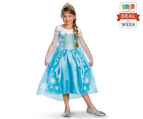 Deal of the Week: Elsa Frozen Costume Under $30 | thegoodstuff