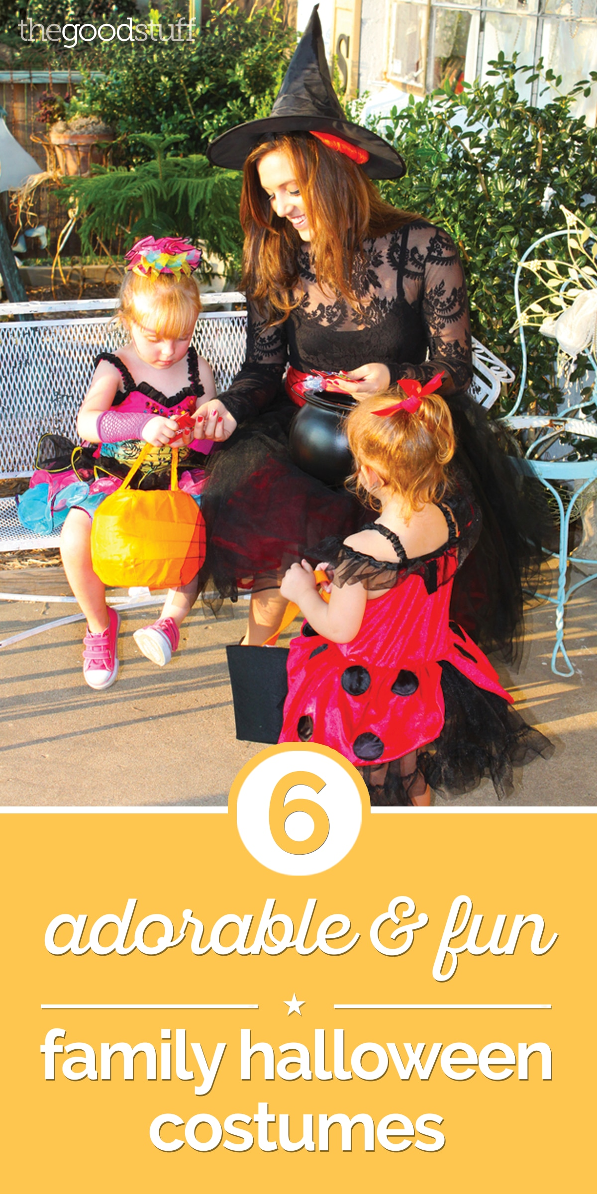 6 Adorable & Fun Family Halloween Costumes | thegoodstuff