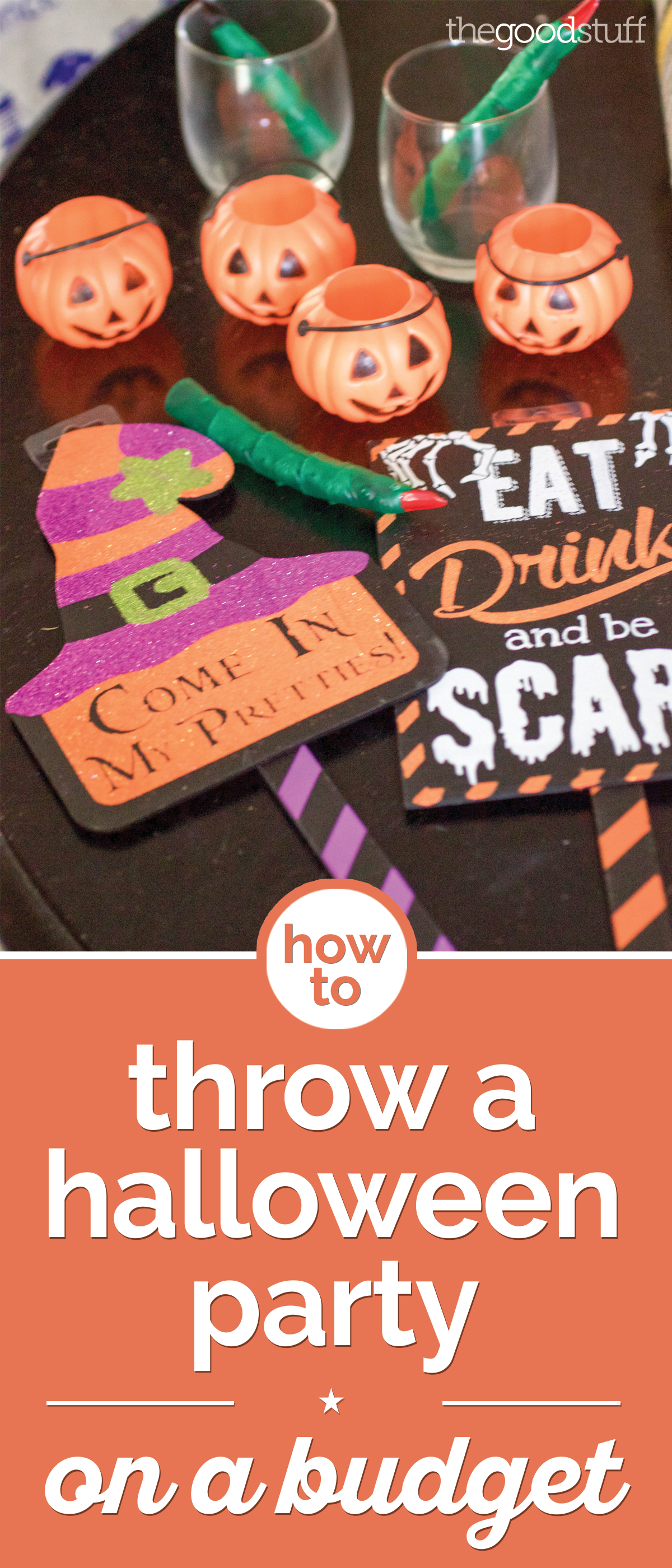 how to throw a halloween party on a budget the good stuff - Throw A Halloween Party