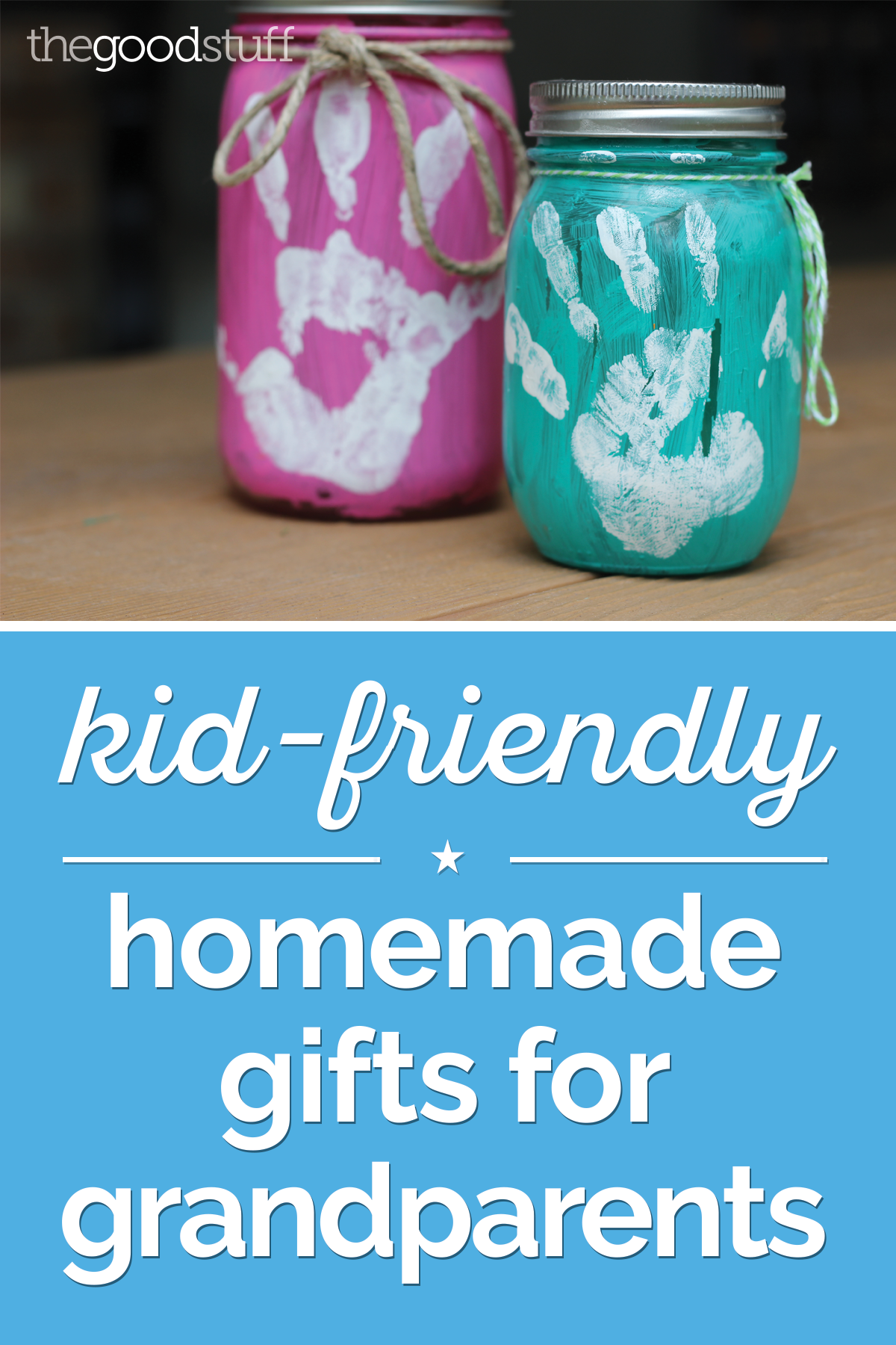 Amazing Christmas Craft Ideas For Grandparents Part - 4: Kid-Friendly Homemade Gifts For Grandparents | Thegoodstuff