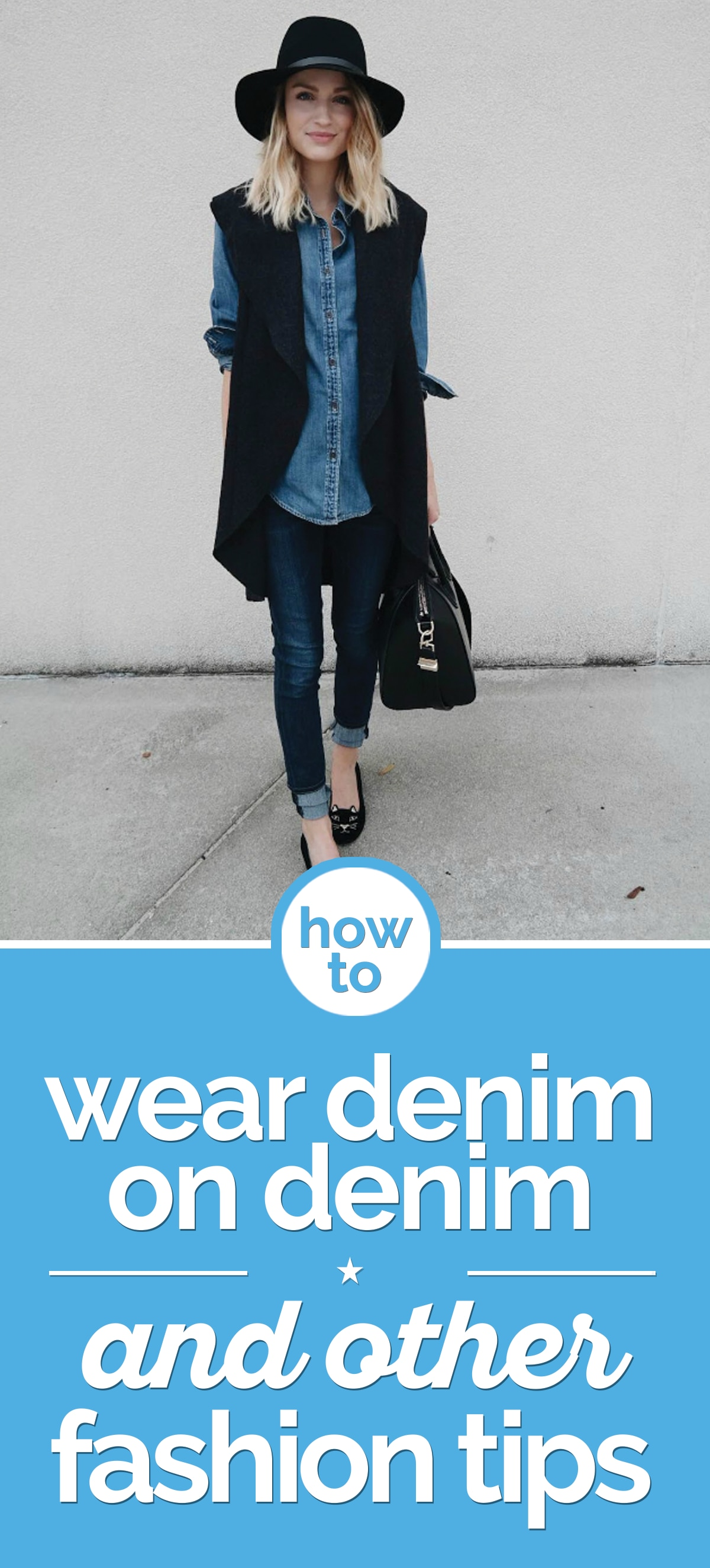 How to Wear Denim on Denim & Other Denim Fashion Tips | the good stuff